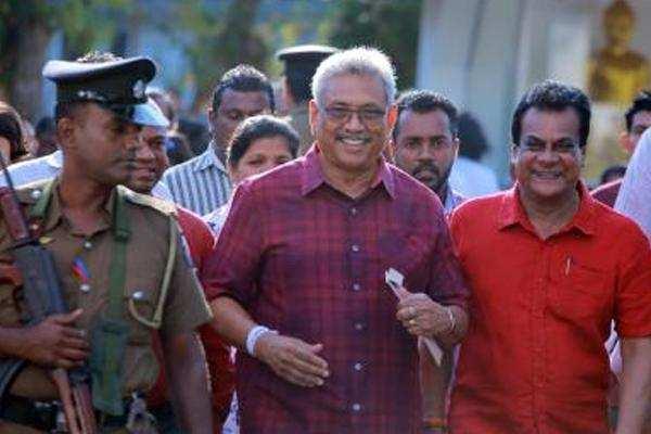 श्रीलंका राष्ट्रपति चुनाव : अपने प्रतिद्वंद्वियों से आगे प्रारंभिक नतीजों में गोताबेया राजपक्षे