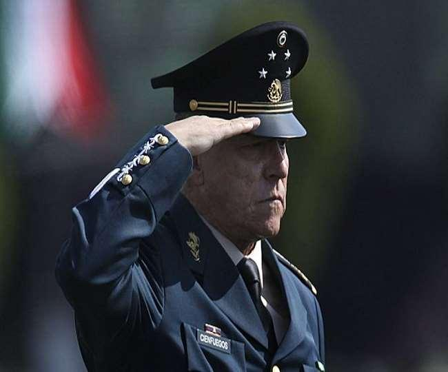 लॉस एंजेल्स : मेक्सिको के पूर्व रक्षा मंत्री गिरफ्तार, ड्रग तस्करी और मनी लॉन्ड्रिंग का आरोप