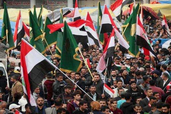 बगदाद में गोलियाें से भून डाला 16 प्रदर्शनकारियों को