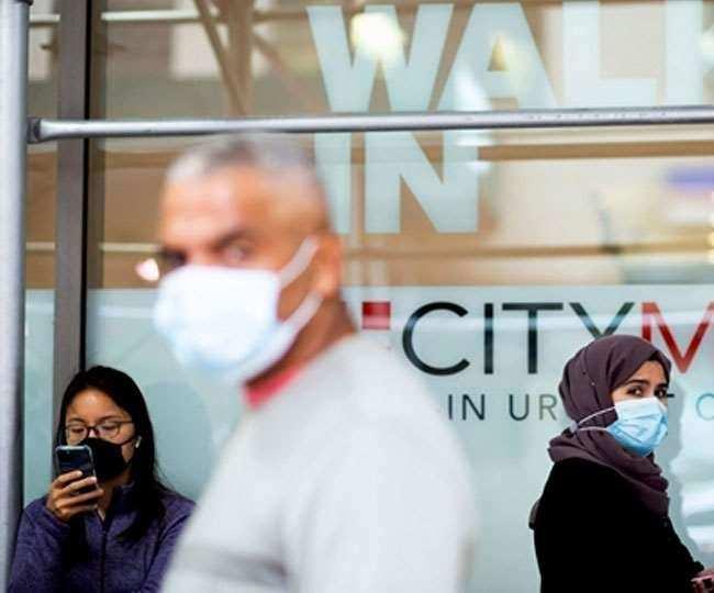 अमेरिका : कोरोना ने मचाई तबाही, एक दिन में आए रिकॉर्डतोड़ 1.42 लाख से अधिक मामले