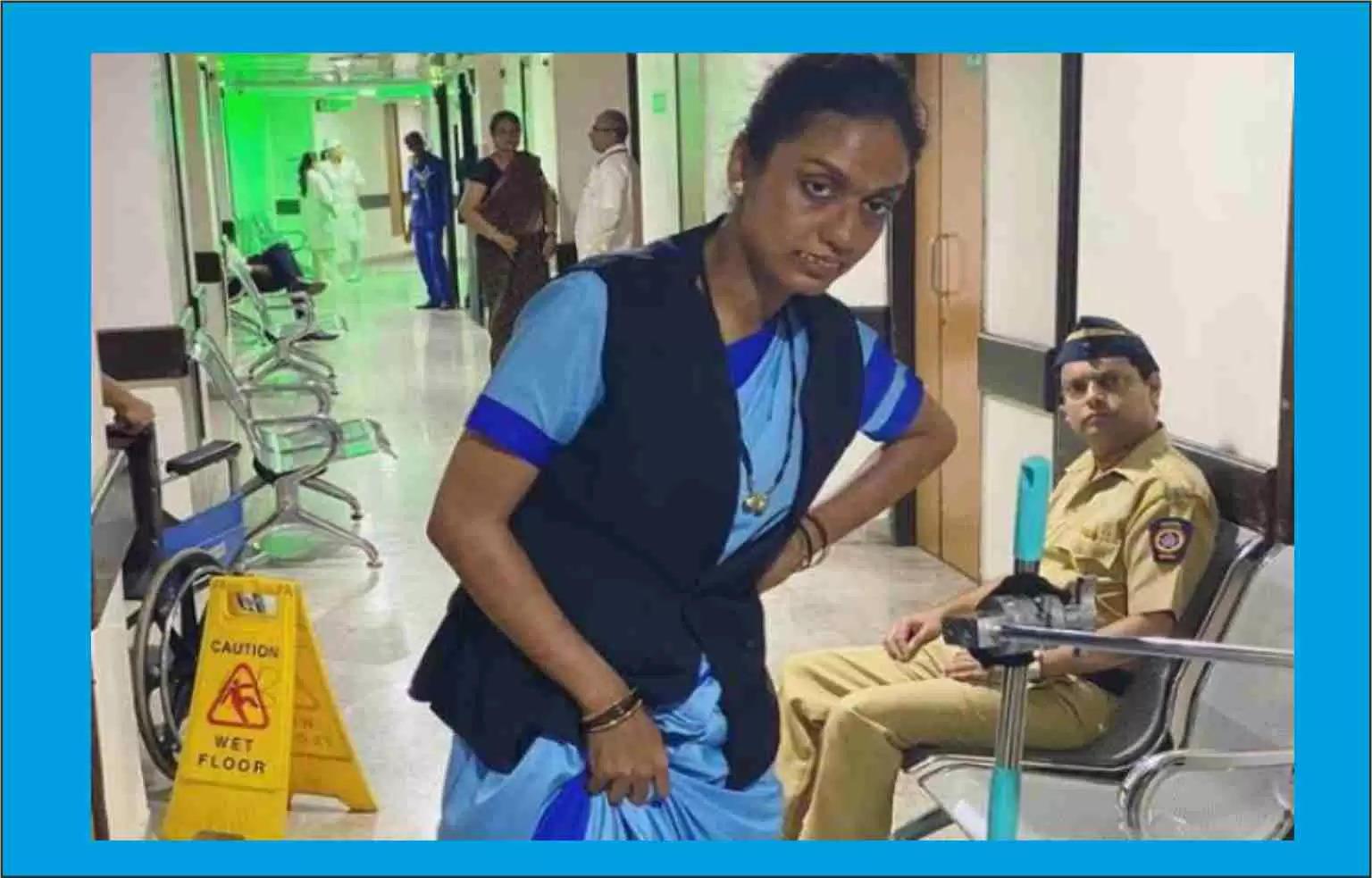 सलमान खान के Bigg-Boss-ott की विनर हास्पिटल में लगा रही पोछा, फोटो हुआ वायरल !