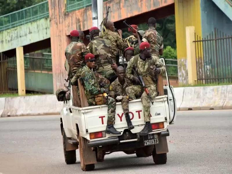गिनी में तख्ता पलट