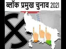 UP Block Pramukh Chunav 2021 सुरक्षा के बीच 476 पद के लिए पंचायत सदस्य डाल रहे मतदान