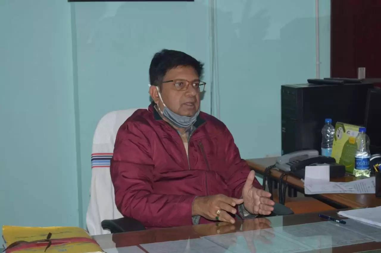 मुख्यमंत्री प्रोत्साहन योजना को लेकर उपायुक्त ने की बैठक