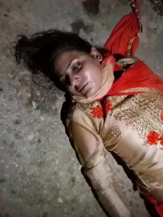 संदिग्ध परिस्थितियों में युवती की मौत, घर से एक किलोमीटर दूर कस्बे में मिला शव