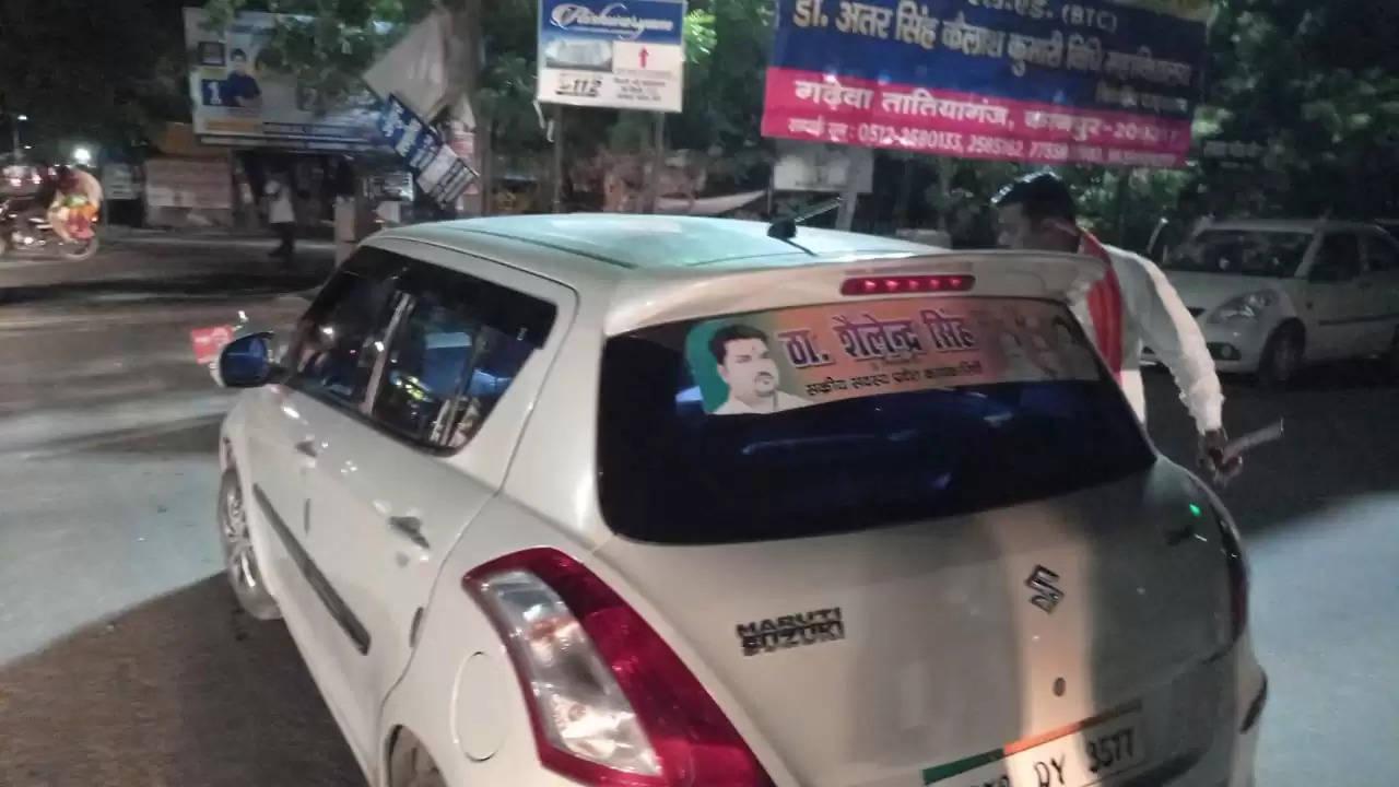 भाजपा का सक्रिय सदस्य बताने वाले कथित नेता शैलेंद्र सिंह ने डीसीएम चालक के साथ की गुंडई