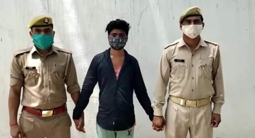 25 हजार के इनामी आरोपी कोपुलिस ने किया गिरफ्तार