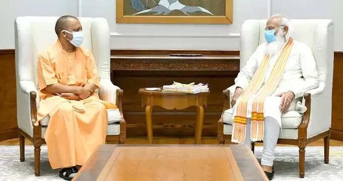 Modi-Yogi की Meetingकरीब सवा घंटे चली, CM YOGIऔर मजबूत होकर लौट रहे हैं योगी?