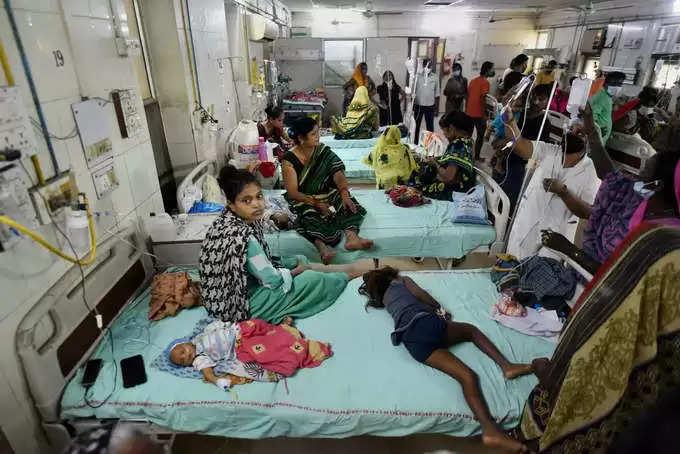 dengue-Viral fever in UP:वायरल बुखार और डेंगू से UPमें हालात बेकाबू ,अस्पतालों में मरीजों की संख्या बढ़ती जा रही