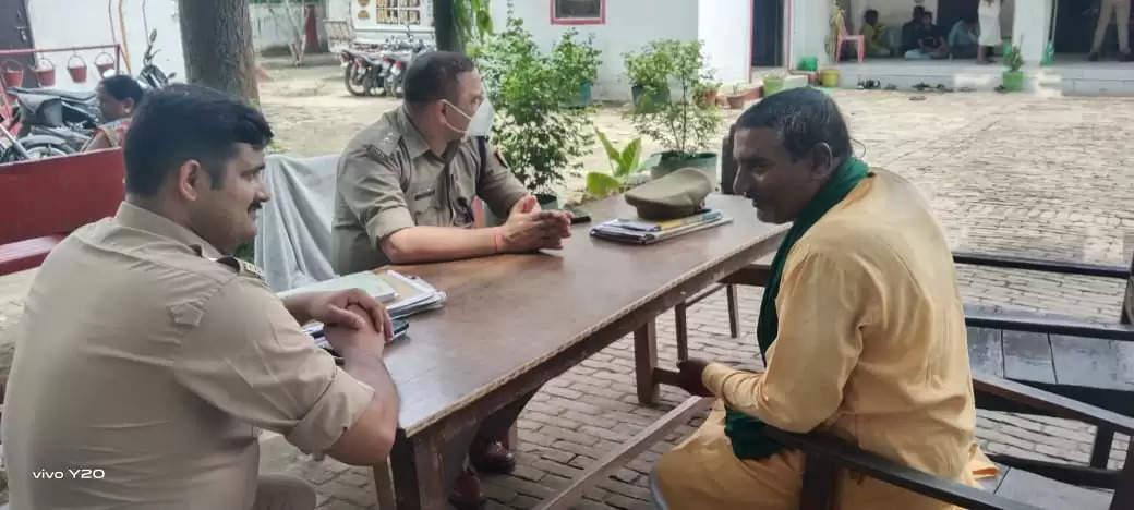 किसानों के ऊपर फर्जी मुकदमा दर्ज करने के विरोध में भाकियू का सभी थानों का घेराव बीते 1 जुलाई से करने का निर्णय