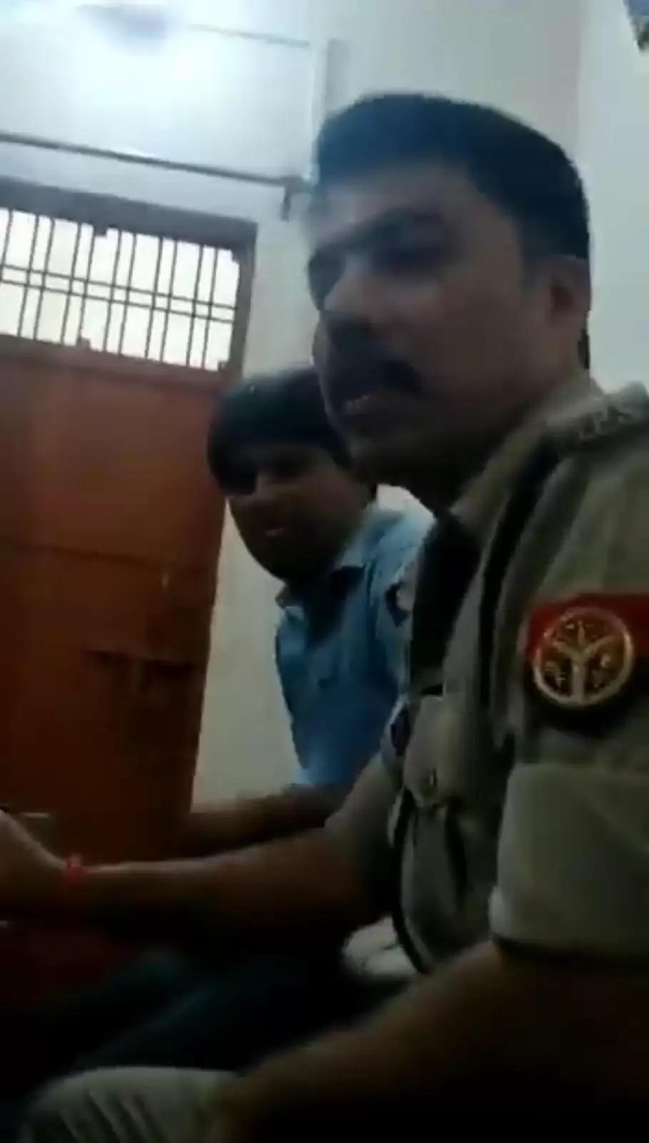 योगी सरकार में मनीष के परिजनों को मुकदमा ना लिखवाने की सलाह देते एक वीडियो वायरल हो रहा, देखे पूरी खबर