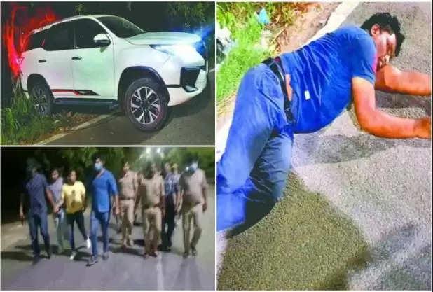 लॉकडाउन : लग्जरी कारें चुराने का शतक, फॉच्यूर्नर को चूरन और इनोवा को बुलाते थे पनडुब्बी