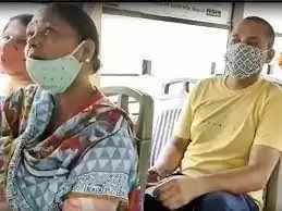 कानपुर के कमिश्नर डॉ राजशेखर ने दो बसों में सफर किया,कोई भी कोविड प्रोटोकॉल का पालन करता नहीं मिला