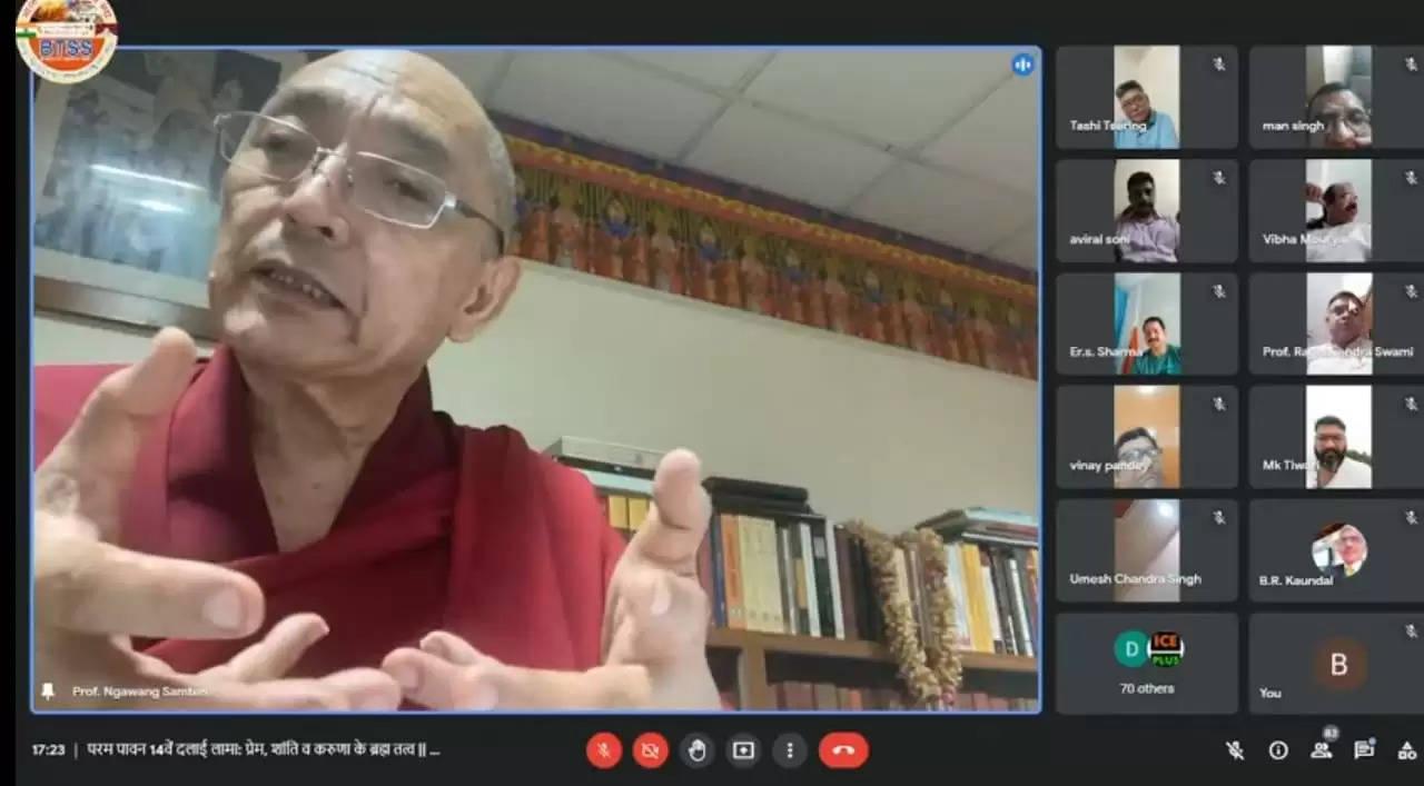 प्रकाशनार्थ -दलाई लामा की चार प्रतिज्ञाओं पर अमल करने की तत्काल आवश्यकता: तिब्बती राष्ट्रपति पेन्पा श्रृंग