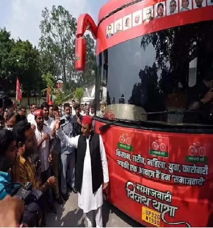 सपा सुप्रिमो अब मैदान में, आज कानपुर से यूपी चुनाव का शंखनाद, अखिलेश की विजय रथ यात्रा का आज से होगा आगाज़
