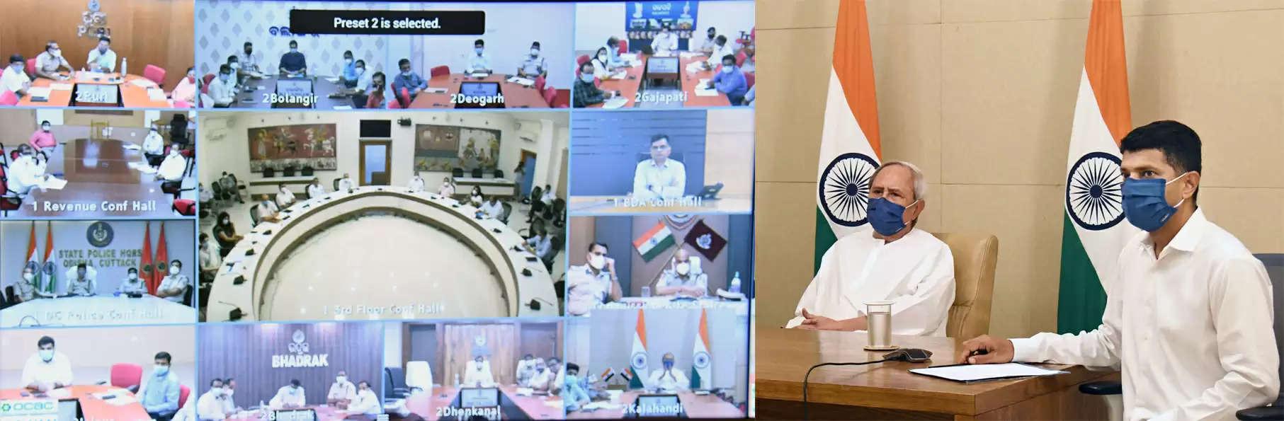वीडियो स्वीकारोक्ति के माध्यम से कोविड-19 स्थिति की समीक्षा कर रहे हैं: मुख्यमंत्री