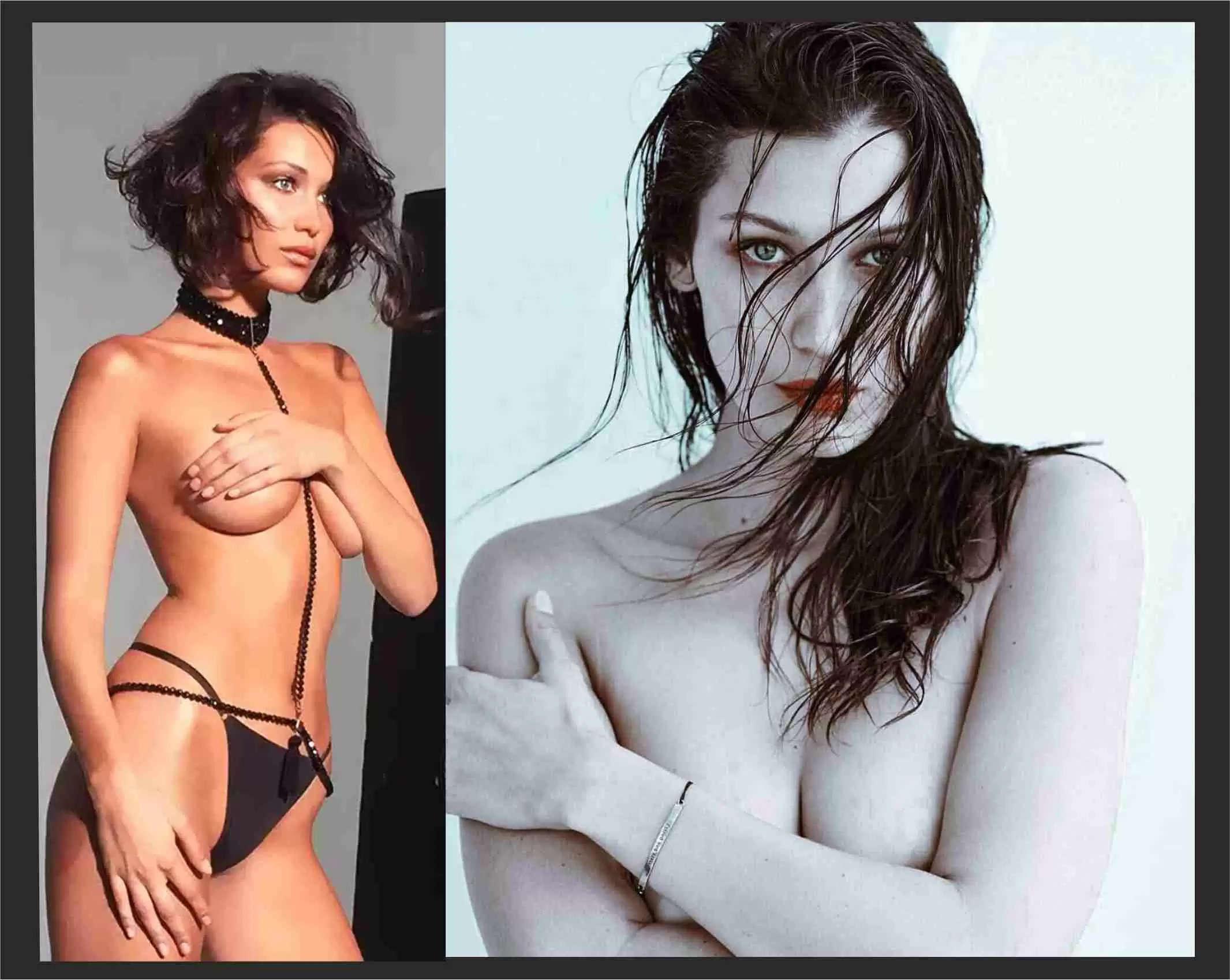 Bella Hadid Sexy Video: